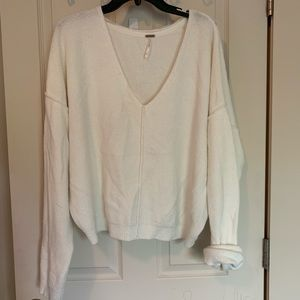 Free People Slouchy Pullover Sweater